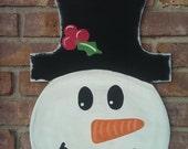Snowman Jar Door Hanger