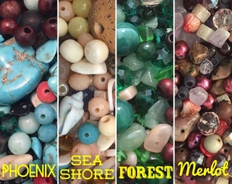 Designer bead mix, Bead Soup Mixed Lot Bag of Beads