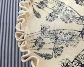 Handmade Dandelion Cake Plate