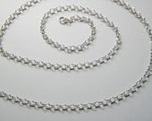 Sterling Silver Chain-2.4 mm, Choose your length, layering chain