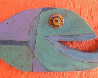 "Timber fish ""Charlie"""