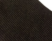 Black Charcoal Check -  Felted Wool Fabric Yard in 100% Wool in a Fat Eighth or Fat Quarter Yard