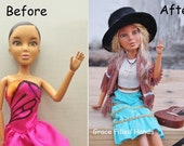 Repainted Makeunder Make-over LIV Doll OOAK Collector Shalom handpainted