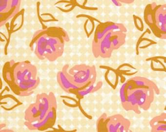 Free Spirit Fabric EM22 Erin McMorris Weekends - Lilyrose - Butter