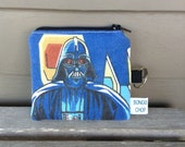 Star Wars Darth Vader Mini Wallet with ID Holder Upcycled