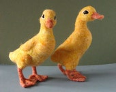 Felted Wool Duck Kit Peace Fleece