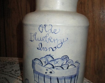 Blueberry milk jug