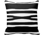 Modern Graphic Designer Throw Pillow w/ Insert