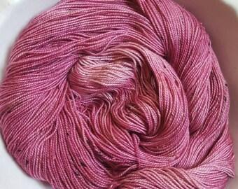 Blushing Violet-- Vintage Sock -- 85/15 Blend of Superwash BFL and Nylon NEP