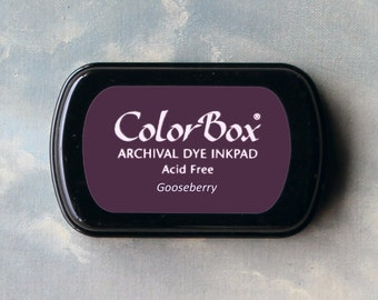 Purple Stamp Pad (Gooseberry) // Archival ink // ColorBox
