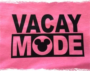 VACAY Mouse MODE Shirt