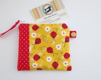Ladybirds Credit Card/Coin Purse