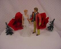 Dr Who Wedding Cake Toppers TV Show - Sixth  DR David Tennant 6th Doctor Mr Figurine Groom Mrs Woodland Bride Halloween Weddings Fun Gift -5