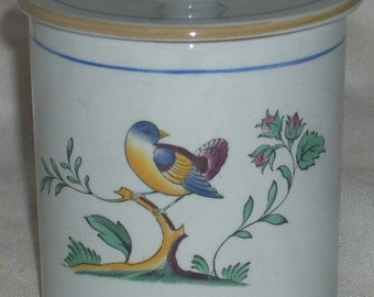Spode Queen's Bird Jam Jelly Jar with Lid