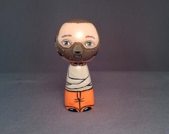 Hannibal Lecter Doll Horror Kokeshi