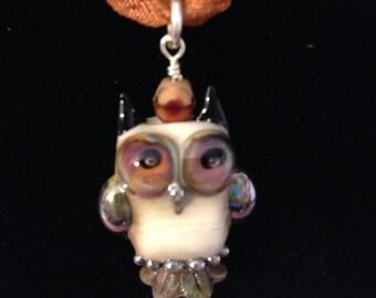 Lamp Work Bead Pendant