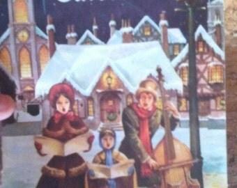Vintage Western Auto Bach Christmas Carols Booklet