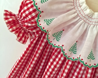 Classic Baby Girl Sister  Dress Detachable Collar Options for  Classic Red and White Dress by Juvie Moon Designs