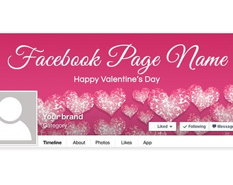 Valentine's Day Facebook Timeline Cover - PS5