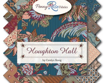 """42  10"""" Squares Layer Cake Houghton Hall from Penny Rose fabrics 100% cotton fabric for quilting"""
