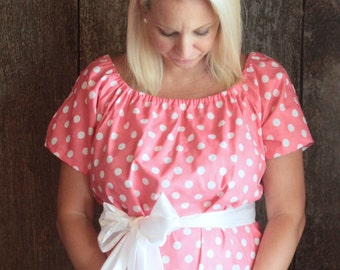 Maternity Hospital Gown in Berlyn- Perfect for Nursing and Skin to Skin - Choose Options - Ready to Ship