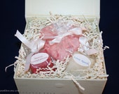 Valentine Candles Gift Box -  Bridal Shower Gift Box - Wedding Gift Candles - Romantic Candles - Engagement Gift