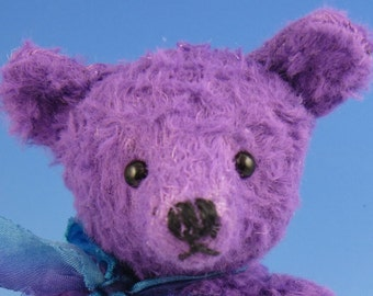 Passionfruit, 5 inch teddy by Burlison Bears