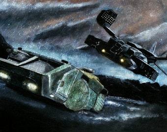 Alien APC/Dropship Limited Edition Art Print
