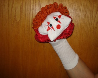 Clown sock puppet sock puppets