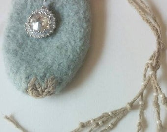 Althea's Medicine Bag/ Hemp Medicine Bag/ Amulet Pouch/ Hemp Medicine Pouch