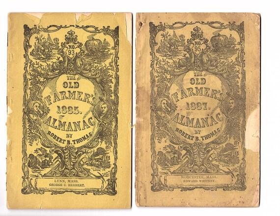 1885 Old Farmer S Almanac