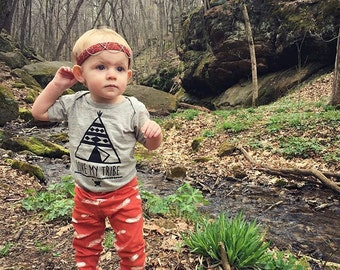 BOHEMIAN LINE - I Love My Tribe Bodysuit or Toddler Tee - Available in various colors and Sizes