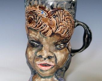 Wolf Boy Porcelain Mug 5