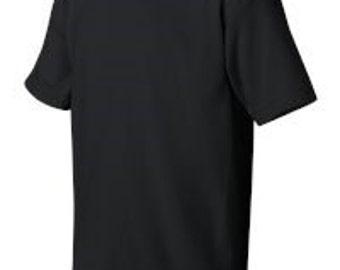 Black Short Sleeved T-Shirt