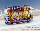 Wild Africa - Modern Art Glass - 1 focal bead by Michou P. Anderson