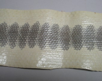 sea snake skin genuine snake 25 by3 inches hat band craft supply leather making