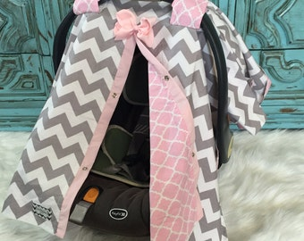 Car seat canopy Baby Girl / Car seat cover / car seat canopy / carseat cover / carseat canopy / nursing cover