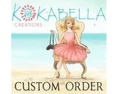 Custom Montessori Order for Melissa