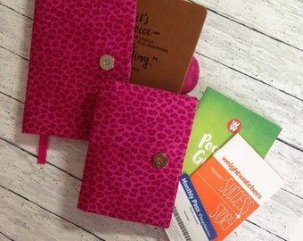 Weight Watchers 2017 SmartPoints Journal & Pocket Guide Covers ~ Set of 2 ~ Custom Designed ~ 48 Fabrics.