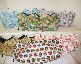 Assorted Bird Covers for Purses
