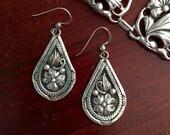 Vintage Sterling Silver Wil Earrings