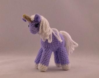 Unicorn Amigurumi Crochet Handmade Stuffed Animal Plushy Toy