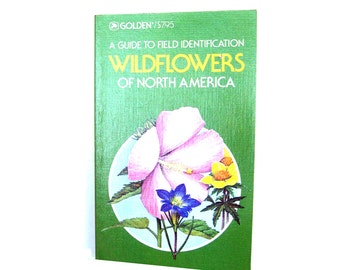 WILDFLOWERS of North American Golden Guide Vintage Book