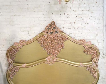 Painted Cottage Shabby Chic French Romantic Bed Queen / King BD728