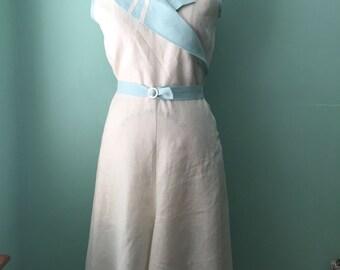 1930's 30's wide leg culotte length  beach pajama    sample sale
