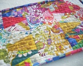 alison glass color theory mini quilt - FREE SHIPPING
