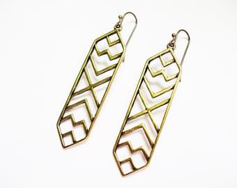 Boho Dangle Earrings // Tribal Boho Jewelry // NAVAJO Inspired Earrings // Cute Drop Earrings // Southwestern Earrings // Boho Earrings