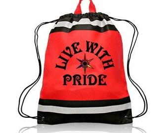 LGBT Drawstring Tote Bag