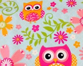 Custom Boutique (Owl and Bird) Shopping Cart Cover -comes with a pillow and a safety belt