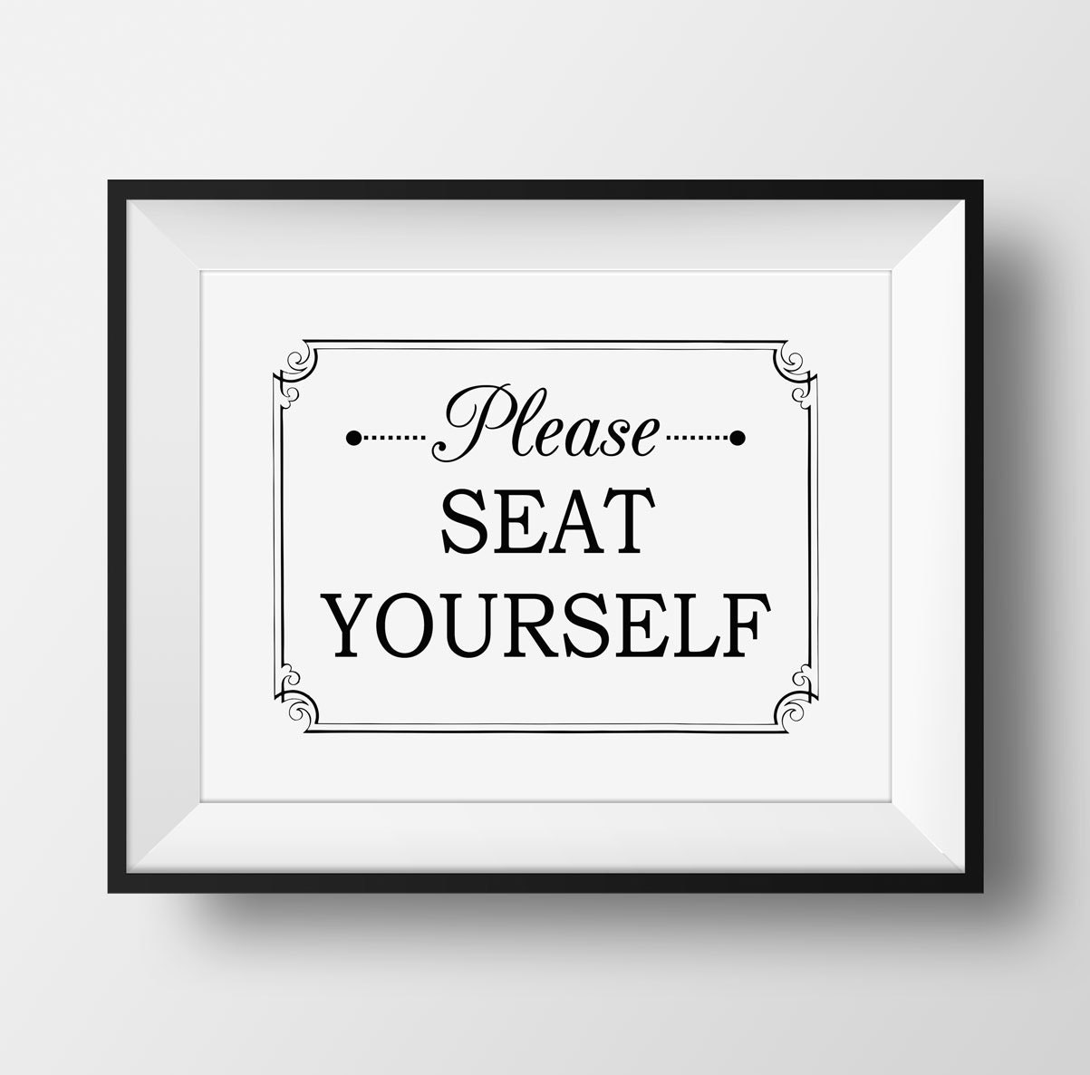 Funny Bathroom Art Please Seat Yourself Wall Art Bathroom Wall Decor Funny Bathroom